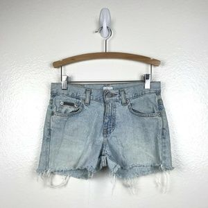 VTG Calvin Klein Jeans Distressed High Rise Shorts